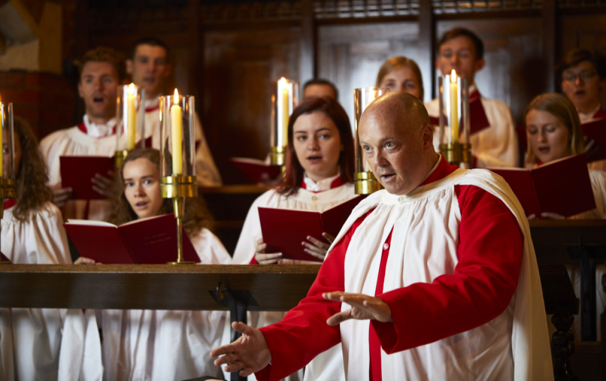 Music by Thomas Tallis and the Mass in G Minor by Vaughan Williams, plus modern Australian and American Music